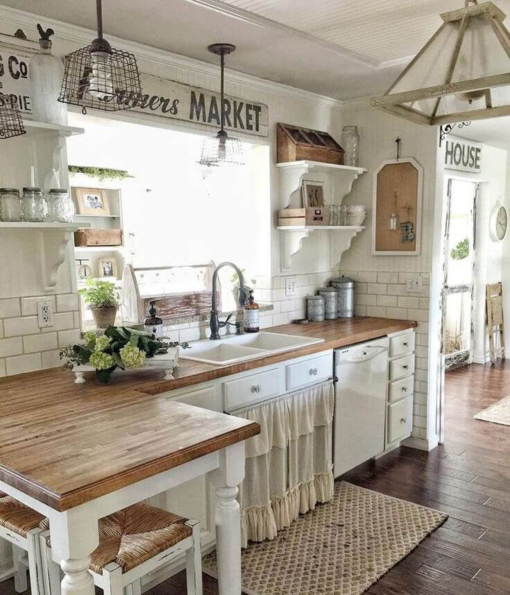 Rustic Farmhouse Style Home Decor