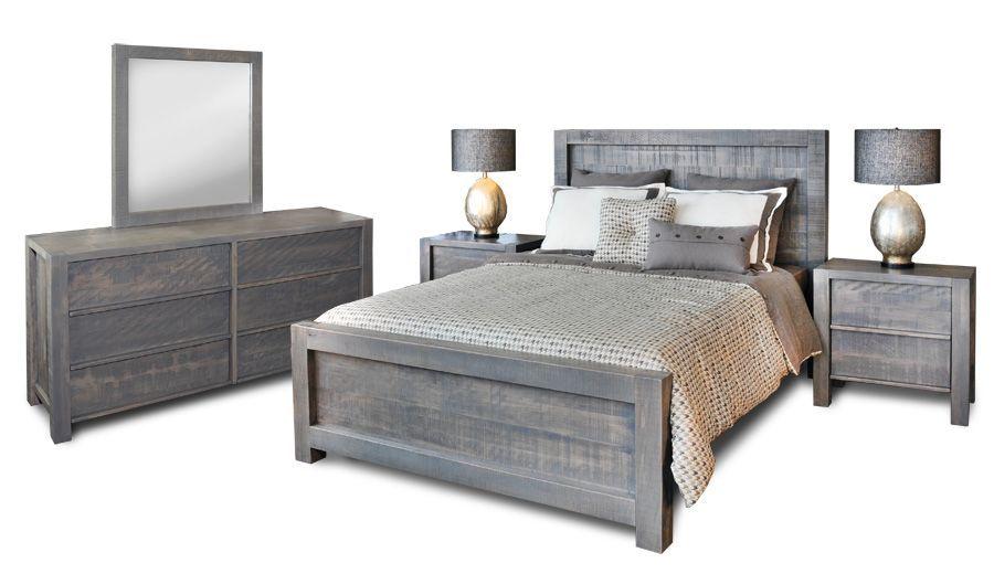 Gray Bedroom Set