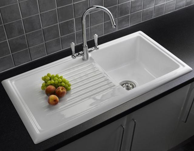 Kitchen Sink With Drainboard