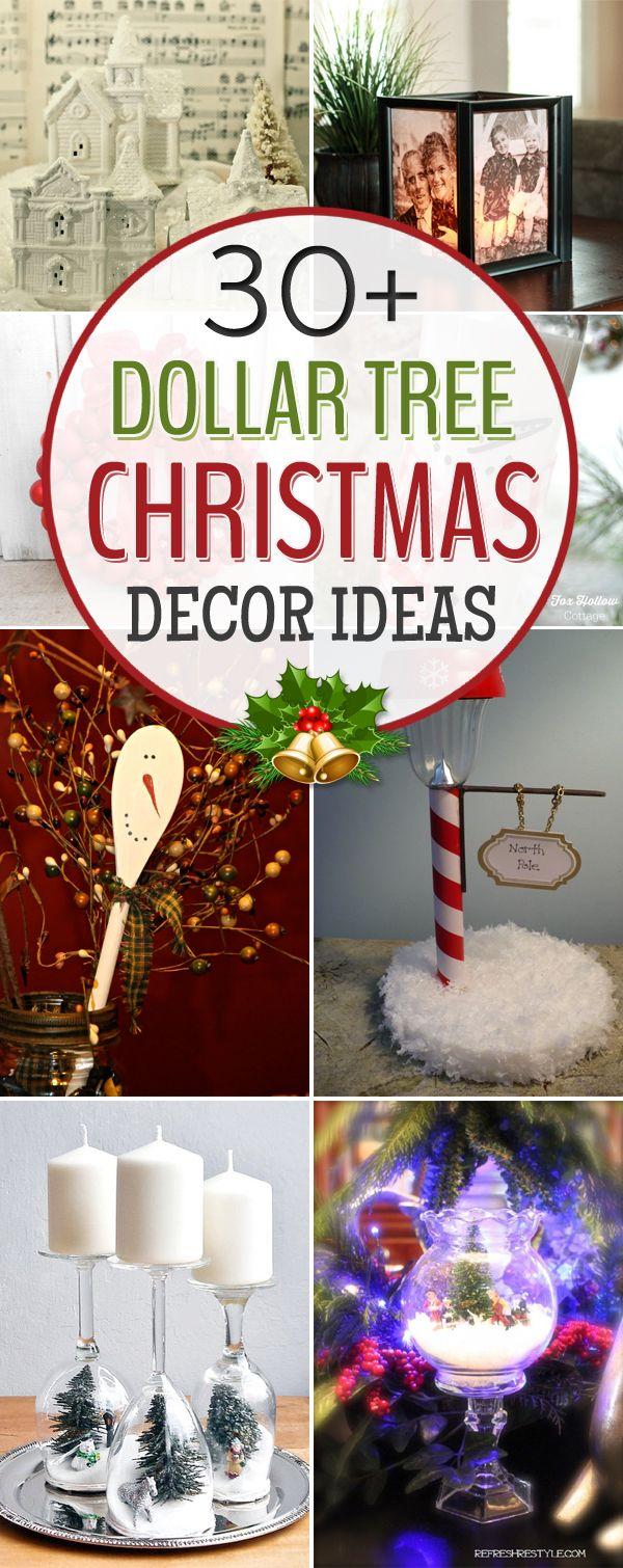 Dollar Tree Christmas Decorations