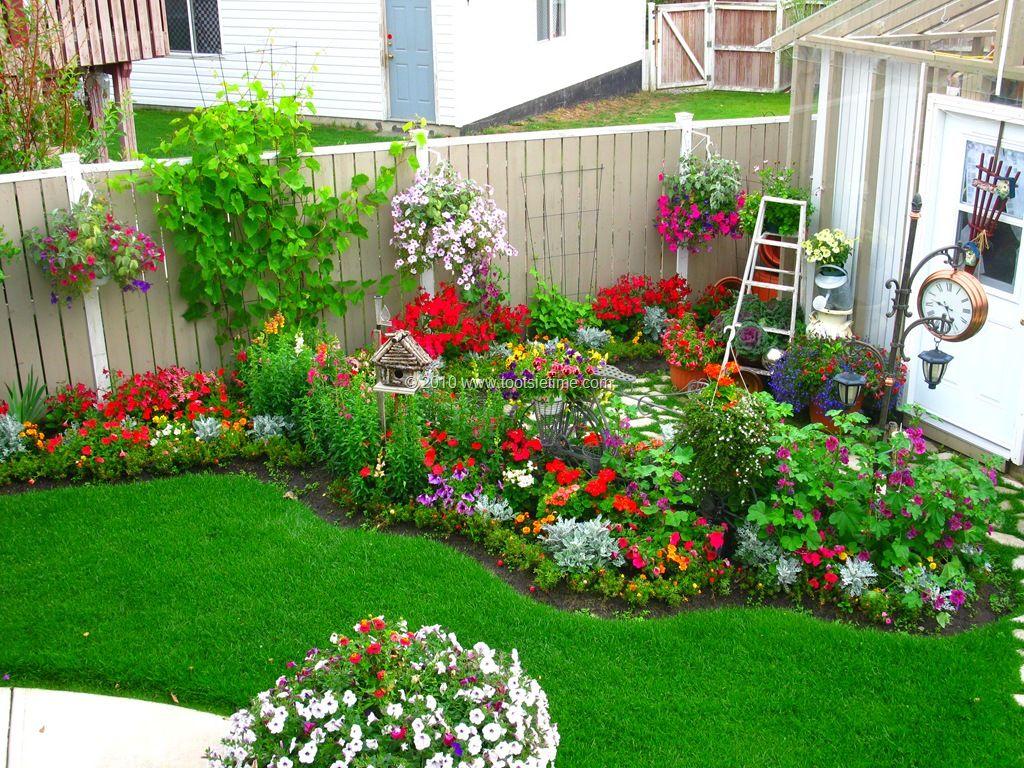 Backyard Flower Garden Ideas