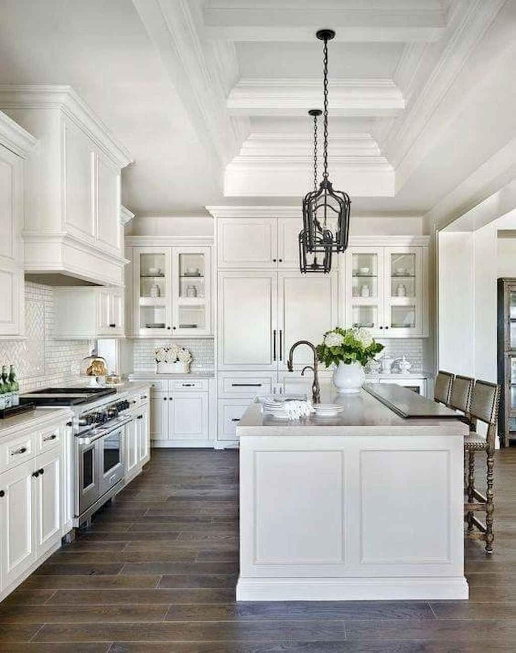 Farmhouse White Kitchen Cabinets