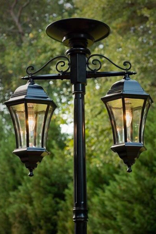 Outdoor Solar Post Lights
